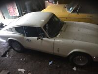 Triumph gt6 coupe, classic sports, 2litre, straight 6 cylinder