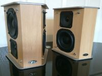 ELTAX LIBERTY SURROUND SPEAKERS, FULLY WORKING, CRYSTAL CLEAR SOUND EFFECTS, EXCELLENT CONDITION.