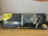 7ft football goal - unused and in sealed box