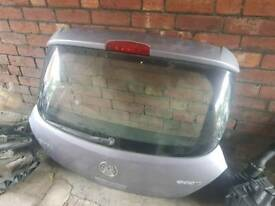 Vauxhall Corsa D 3 door complete tailgate bootlid in Z163