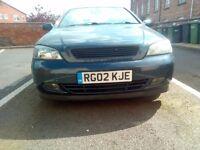 2002 Vauxhall Astra 2.2 Convertible Auto (BERTONE)
