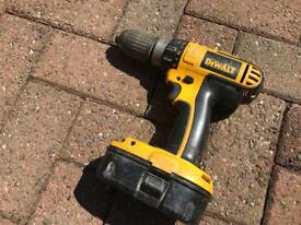 Dewalt 18v combi drill with battery