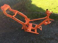 Gilera Runner SP FX 125cc 172cc 180cc 183cc frame 1999 powder coated bright