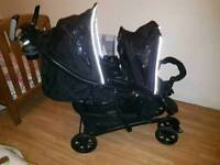 GRACO double pram immaculate condition