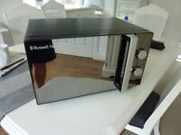 russell hobbs 800W microwave oven - black