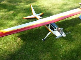 Radio Control Aeroplane, complete with engine