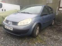 2004 Renault Scenic For Parts