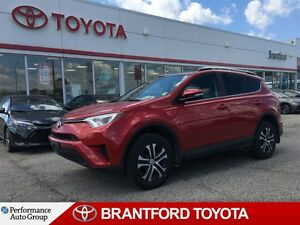 2016 Toyota RAV4 LE, Under 14, 000 Km's!, Rev. Camera, Heated Se