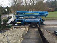 Scwhing Mercedes Concrete Pump