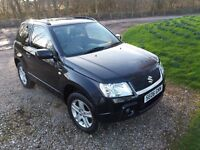 Suzuki Grand Vitara 4x4 1.6 vvt Petrol 12 months Warranty long mot low miles