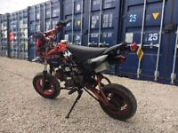 2014/ 64 REG Shineray XY 125 GY VIII ROAD LEGAL PIT BIKE