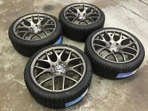"18"" Gun Metal Wheels 5x120 & Winter Tires 225/40R18 (BMW Cars) Calgary Alberta Preview"
