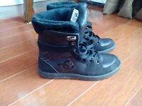 Boys DC high top shoes