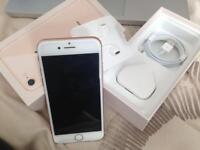 Mint condition, fully boxed - Iphone 8 64GB unlocked rose gold - warranty available