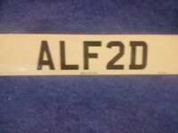 private registration plate for...... ALFRED....... one of the best ava