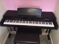 Yamaha Clavinova CVP 59S, Digital Piano and Stool