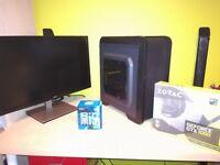 Desktop Gaming PC: I5 7500, 1060 Gtx 6gb, 16gb Ram, 240gb sdd, Win 10 Pro