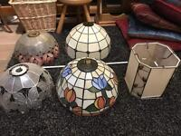 Five Ceiling Lamp Shades