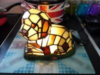 Tiffany Style Dog Lamp in Excellent Working Order