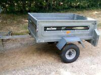 DAXARA 127 CAR TRAILER VERY GOOD CONDITION