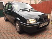Rover Metro 1.4 SLI Auto 1997 R plate Petrol Green 5 door (34000 Genuine Mileage)