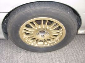 "Subaru Impreza 15"" S14 WRC Gravel Alloy Wheels Rally Car 5x100"