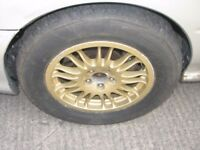 "Subaru Impreza 15"" S14 WRC Gravel Alloy Wheels Rally Car 5x100"