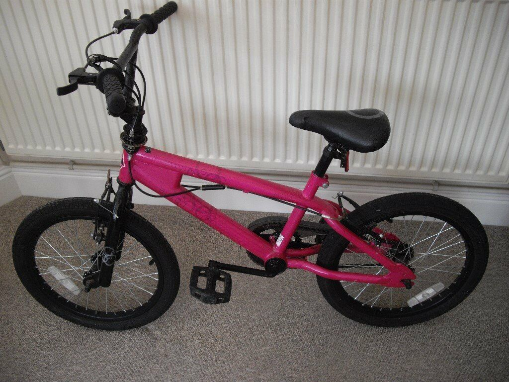 "Girls Pink 16"" Circle Bike"