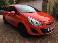 2013 Vauxhall Corsa S Ecoflex, Manual, 1.0 litre, £30 road tax, 3 door Hatchback, Priced to sell!