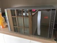 Combination Mirror Microwave