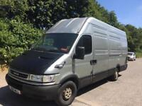 IVECO DAILY 35 S12 LWB 2.3 2006 ,EX HIGH ROOF, 1 OWNER FROM NEW, 15600 MILES, 1YEAR MOT