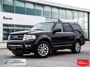 2017 Ford Expedition Limited; 8 seats; AWD; apple carplay; Ford