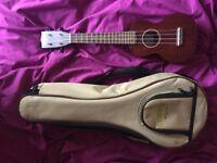 Gretsch Ukulele G9100-L with bag, high quality ukulele
