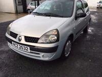 2003 Clio 1.1 petrol,mot.10,18,,price£ 599 px/exch