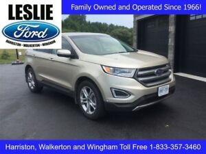 2017 Ford Edge Titanium   AWD   One Owner   Heated/Cooled Seats