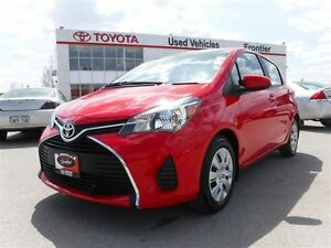 2015 Toyota Yaris LE TOYOTA CERTIFIED PRE OWNED