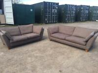 3 and 2 seater sofa's FREE DELIVERY