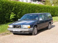 Volvo 740 SE Estate, family owner