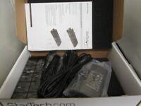 multiple port (4) rugged industrial super speed USB 3.0 hub (Mountable) industrial USB 3.0 hub