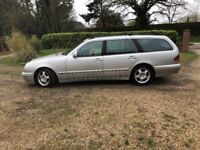 2003 Mercedes e220 cdi, diesel avantgarde ,automatic ,7 seater long mot.