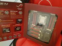 Asus rampage iv extreme Motherboard! 2011 socket