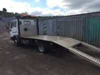 Nissan cab star beaver tail/plant lorry/recovery truck