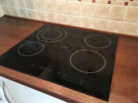 Ceramic hob HOTPOINT Schott Ceran in excellent condition. Fits any worktop. PAT tested.