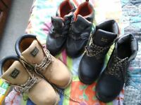 mens boots sizes 9 and 10