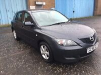 2007 Mazda 3 ts 1.4 , mot - April 2018 , service history,2 owners ,focus,astra,megane,corolla,civic