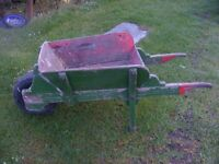 antique wheel barrow for sale