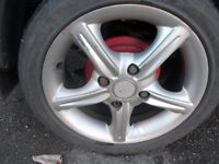 Suzuki Swift Alloy Wheels for swap to standard wheels