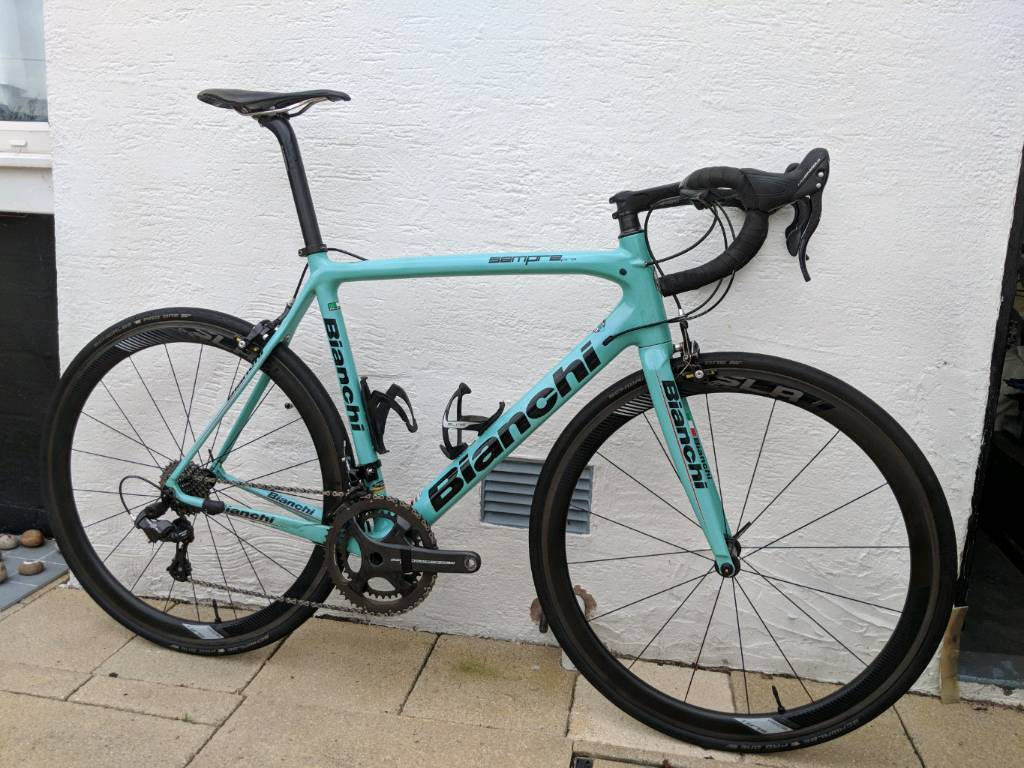 Sold Bianchi Sempre Pro Road Bike 59cm In Houston