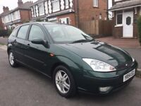 Green Ford Focus for Sale 04 plate