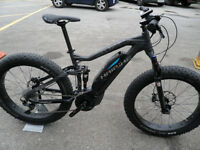 Haibike Sduro Full Fatsix 2016 Full Suspension Fatbike- Electric Mountain Bike